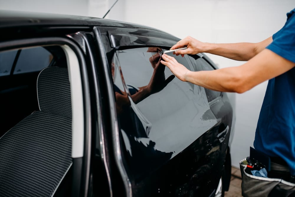 window tint protect leather